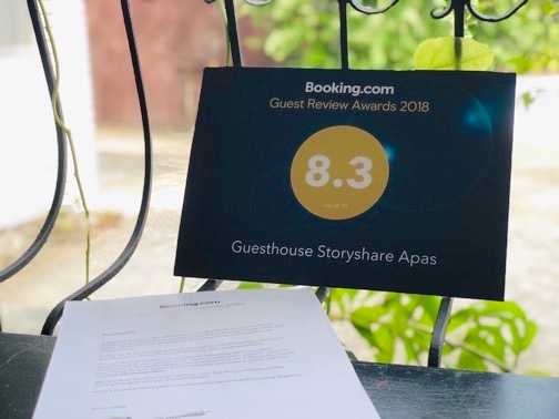 Booking.com Guest Review Awards2018